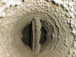 сухая очистка вентиляционных  систем